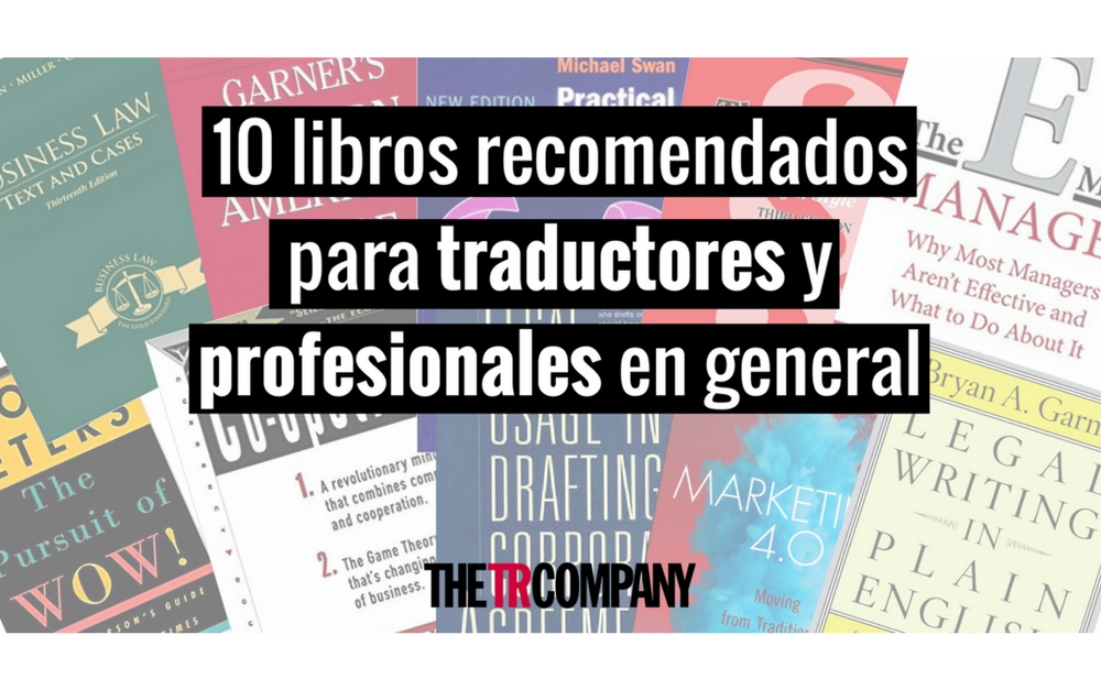 libros recomendados traductores profesionales