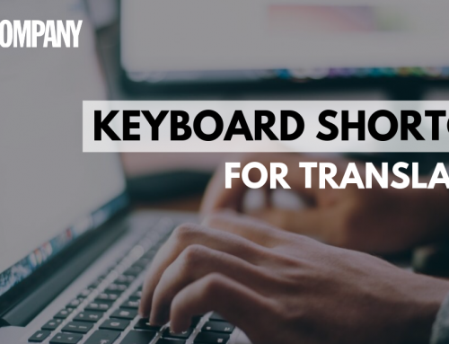 Keyboard Shortcuts for Translators