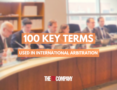 100 KEY TERMS USED IN INTERNATIONAL ARBITRATION